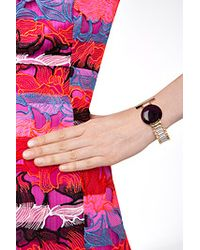 Delfina Delettrez - Watch Bangle With Purple Quartz - Lyst