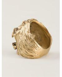 Ela Stone - Metallic Lion Ring - Lyst