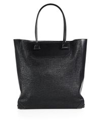 Alexander Wang Black Prisma Embossed Leather Tote