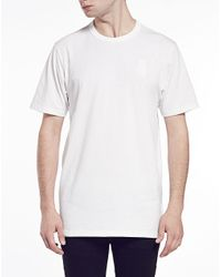 G-Star RAW - White G Star Raw For The Oceans T Shirt With Chest Logo for Men - Lyst
