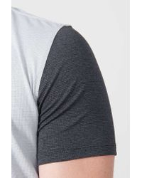 Outdoor Voices | Black Two-tone Flatiron Tee for Men | Lyst