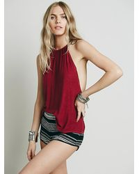 Free People | Purple Cascades Cami | Lyst
