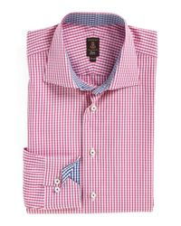 Robert Talbott | Pink Trim Fit Check Dress Shirt for Men | Lyst
