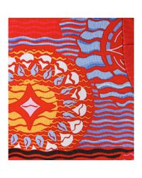 Peter Pilotto - Red Nova Abstract-Print Dress - Lyst