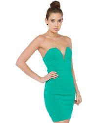 AKIRA - Sweet Victory Kelly Green Bodycon Dress - Lyst