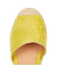 River Island - Yellow Suede Espadrilles - Lyst