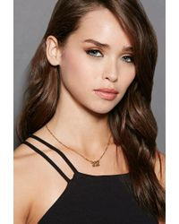 Forever 21 - Metallic Mala By Patty Rodriguez Can I Get Your Number 212 Necklace - Lyst