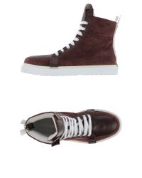 4d991b12a02eb0 Lyst - Kris Van Assche High-tops   Trainers in Purple for Men