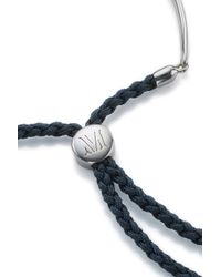 Monica Vinader | Blue Fiji Friendship Bracelet | Lyst