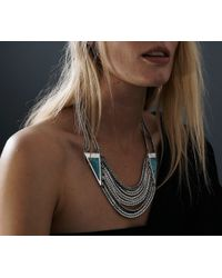 Jenny Bird - Blue Frida Collar - Lyst