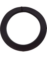 Rick Owens - Black Leather Bracelet for Men - Lyst