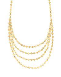 Lana Jewelry | Metallic 14k Elite Mega Disc Triple-strand Necklace | Lyst