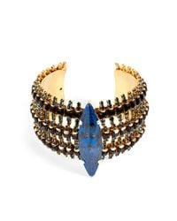 Erickson Beamon - Blue Queens Ransom Bracelet - Lyst
