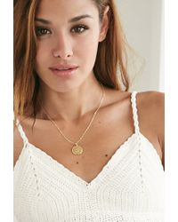 Forever 21 - Metallic Moon And Lola Small Dalton J Necklace - Lyst