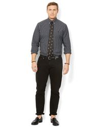 Polo Ralph Lauren | Multicolor Big And Tall Classic-fit Checked Poplin Shirt for Men | Lyst