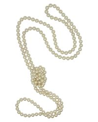 Majorica | White Organic Man-made Pearl Endless Rope | Lyst