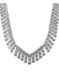 Carat* | Metallic Princess 1.25ct Pendant Necklace | Lyst