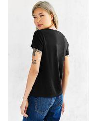 Calvin Klein - Black Tee Shirt - Lyst