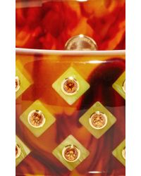 Mark Davis - Multicolor Spessartite Garnet Bakelite Bangle - Lyst