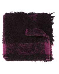 Faliero Sarti - Purple 'markino' Scarf - Lyst