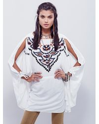 Free People - Natural Womens Sumba Kaftan - Lyst