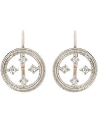 Cathy Waterman | White Drop Earrings | Lyst