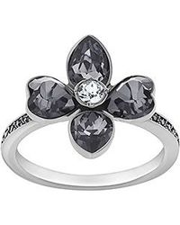 Swarovski | Black Bunch Ring | Lyst
