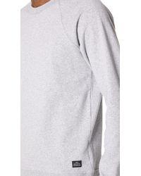 Obey - Gray Lofty Creature Comforts Sweatshirt for Men - Lyst