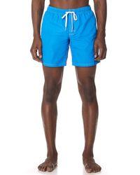 Sundek - Blue Classic Board Shorts for Men - Lyst