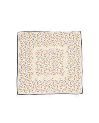Drake's - Multicolor Firefly Print Pocket Square for Men - Lyst