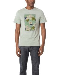 Éditions MR | Green Printed Tee for Men | Lyst