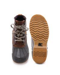 Sorel - Brown Ankeny Boots for Men - Lyst
