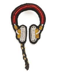Macon & Lesquoy | Multicolor Headphones Pin | Lyst