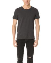 IRO | Gray Paco Tee for Men | Lyst