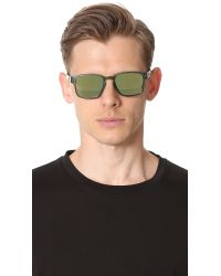 Oakley - Green Latch Square Sunglasses for Men - Lyst