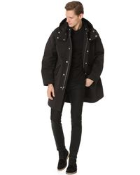 Alexander Wang | Black Fishtail Parka for Men | Lyst