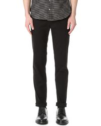 Ben Sherman | Black Slim Stretch Chino Pants for Men | Lyst