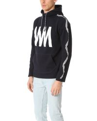 White Mountaineering - Blue Wm Printed Fleece Lining Pullover for Men - Lyst