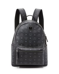 MCM | Black Stark Medium Backpack for Men | Lyst