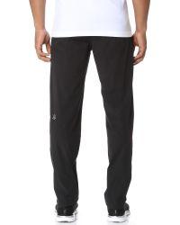 Rhone - Black Torrent Active Pants for Men - Lyst