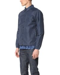 Norse Projects - Gray Svend Coach Nylon Poplin Jacket for Men - Lyst