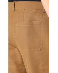 Marni - Multicolor Slim Cropped Gabardine Trousers for Men - Lyst