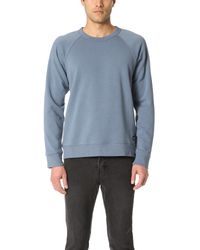 Obey | Blue Lofty Creature Comforts Crew Sweatshirt for Men | Lyst