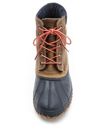 Sorel - Brown Cheyanne Full Grain Boots for Men - Lyst