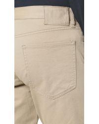 Vince - Natural Essential 5 Pocket Soho Twill Jeans for Men - Lyst