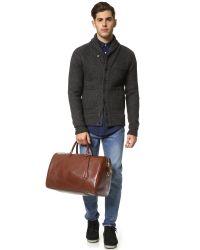 Lotuff Leather - Brown #10 Weekender Bag for Men - Lyst