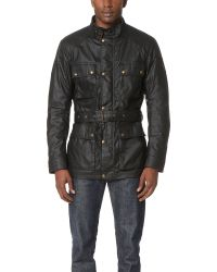 Belstaff | Black Roadmaster Jacket for Men | Lyst