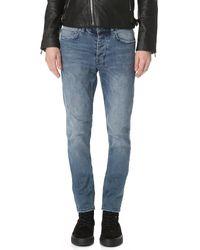 Ksubi | Blue Chitch Chop Taper Jeans for Men | Lyst