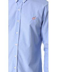 Maison Labiche - Blue Des Shirt for Men - Lyst