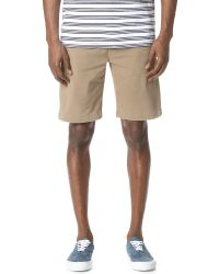 7 For All Mankind | Natural Performance Chino Shorts for Men | Lyst